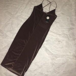 Boohoo Dresses - NEW Velvet Dress